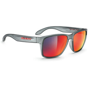 Rudy Project Spinhawk Okulary rowerowe, frozen ash - rp optics multilaser red